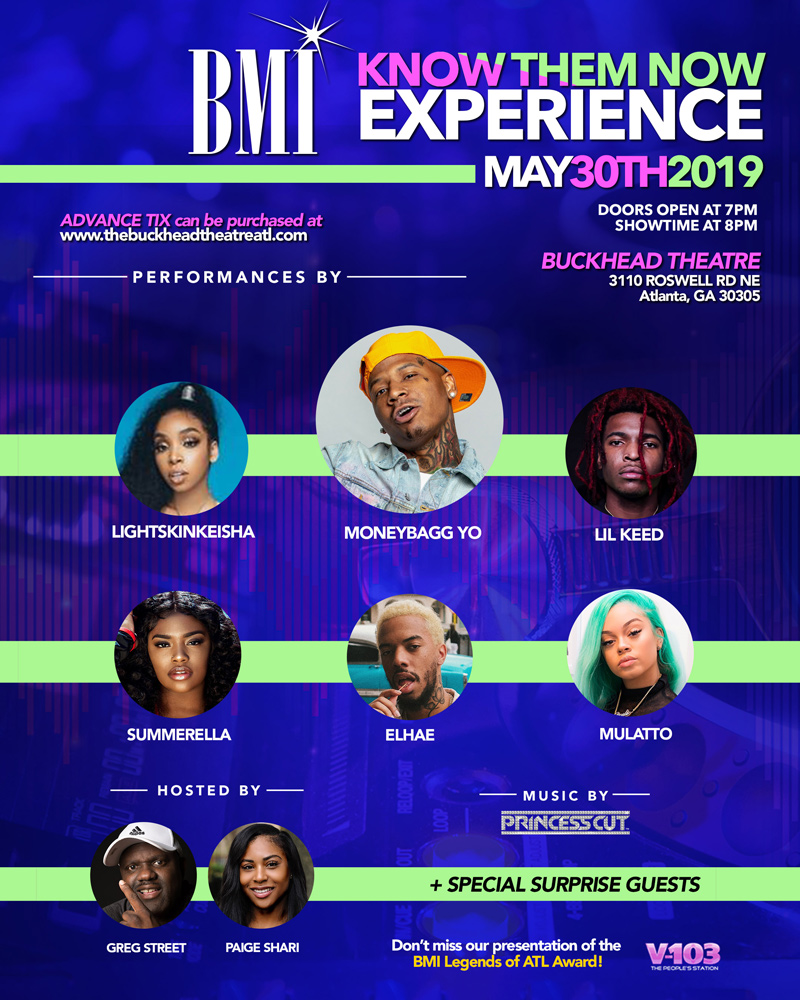 BMI Know Them Now Experience 2019 Atlanta