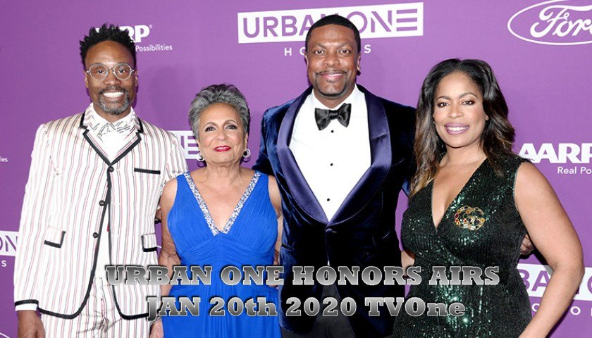 URBAN ONE HONORS AIRS JAN. 20th 2020 TVone 13